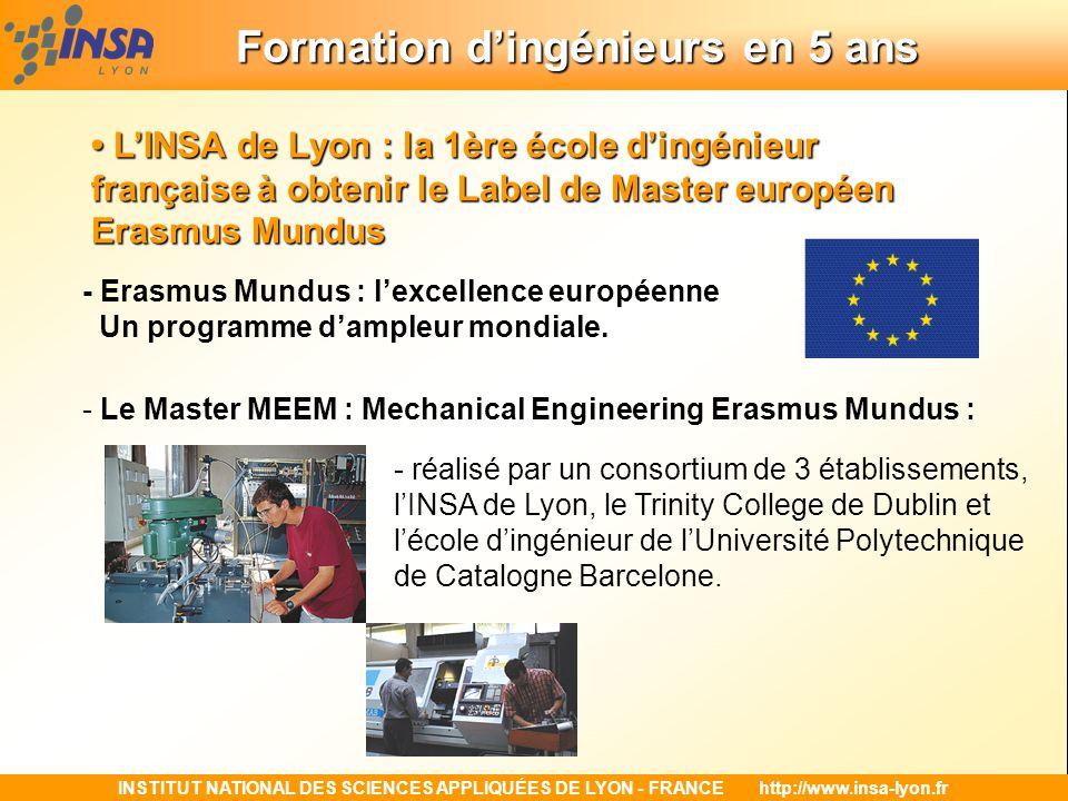 Formation d'ingénieurs en 5 ans