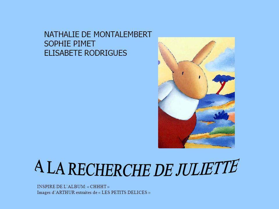 A LA RECHERCHE DE JULIETTE