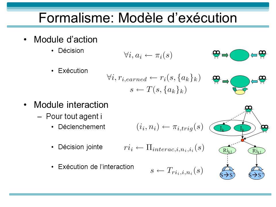Formalisme: Modèle d'exécution