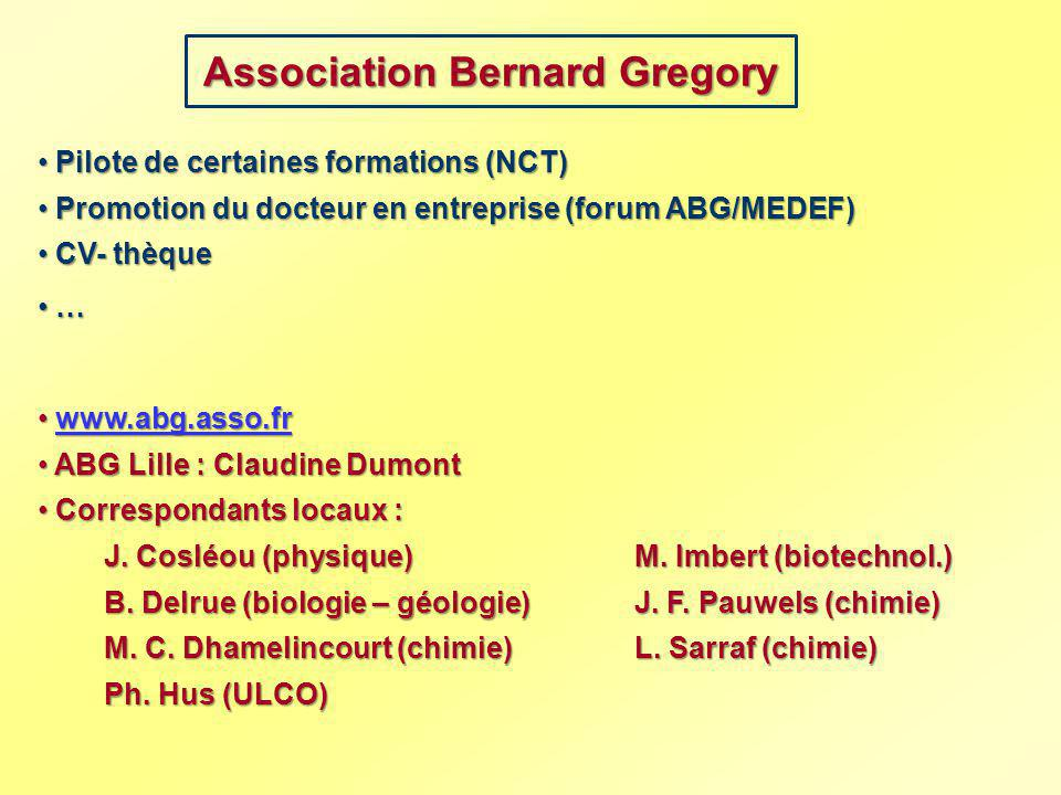 Association Bernard Gregory