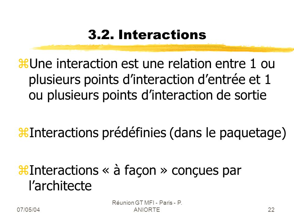 Réunion GT MFI - Paris - P. ANIORTE