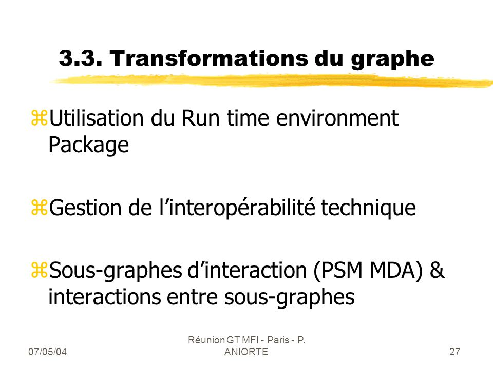 3.3. Transformations du graphe