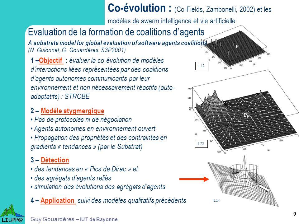Co-évolution : (Co-Fields, Zambonelli, 2002) et les modèles de swarm intelligence et vie artificielle