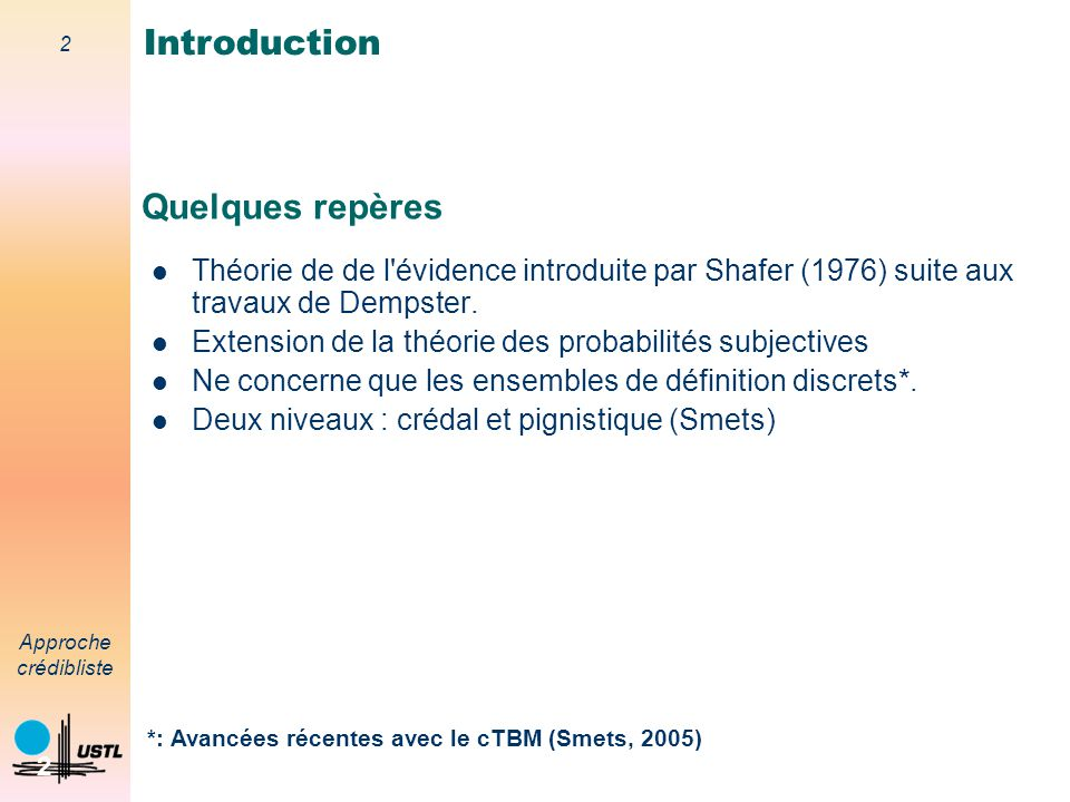 Introduction Quelques repères