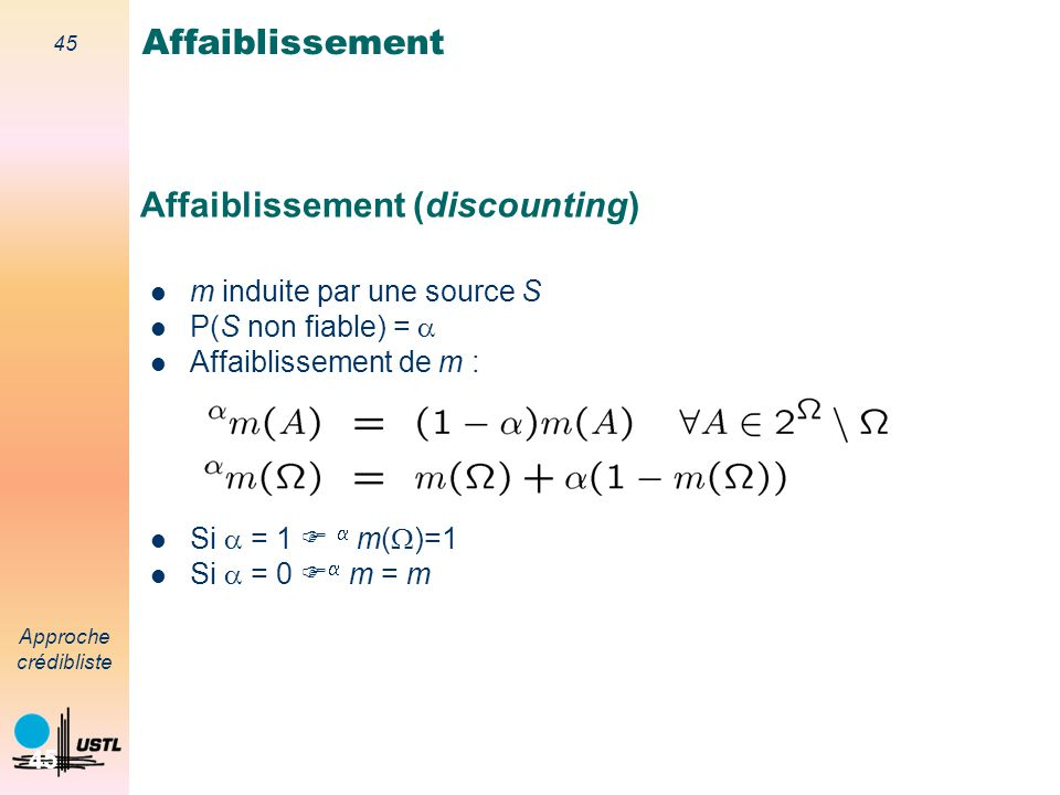 Affaiblissement (discounting)