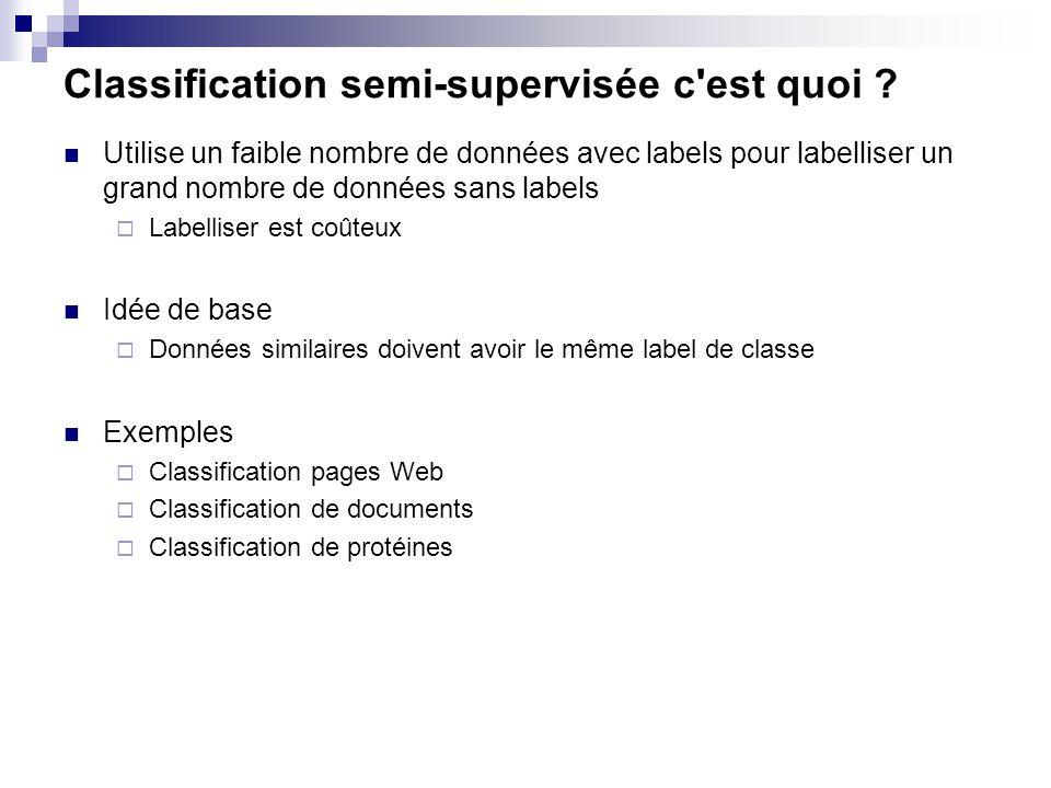 Classification semi-supervisée c est quoi