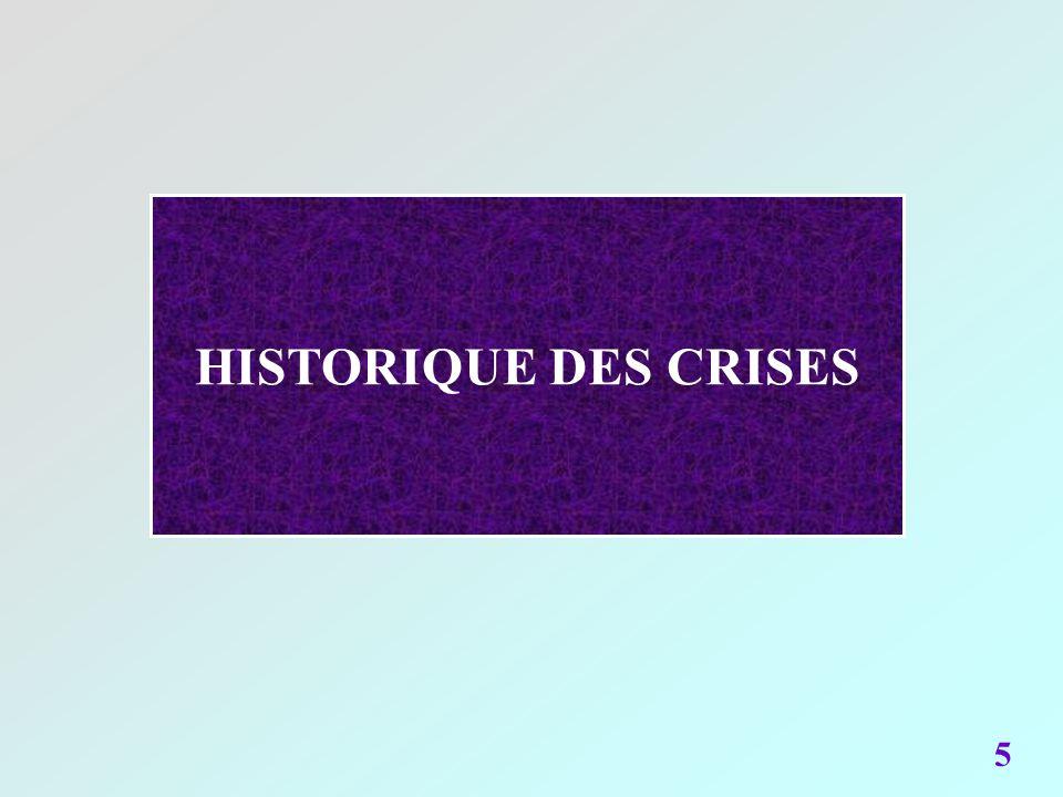 HISTORIQUE DES CRISES 5