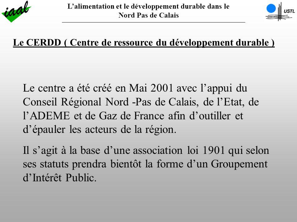 L'alimentation et le développement durable dans le Nord Pas de Calais