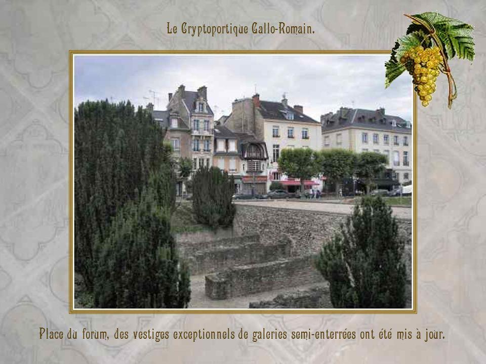 Le Cryptoportique Gallo-Romain.