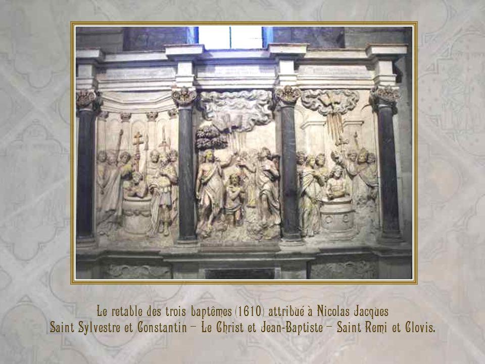 Le retable des trois baptêmes (1610) attribué à Nicolas Jacques