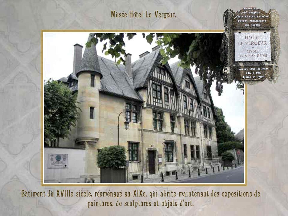 Musée-Hôtel Le Vergeur.