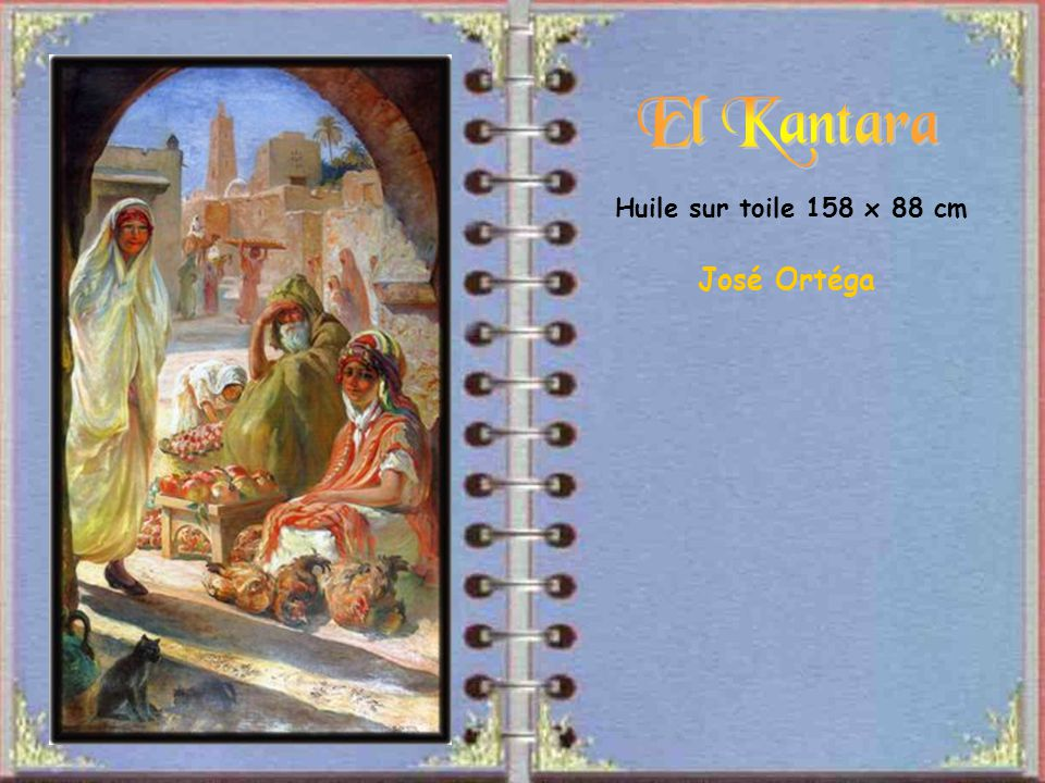 El Kantara Huile sur toile 158 x 88 cm José Ortéga