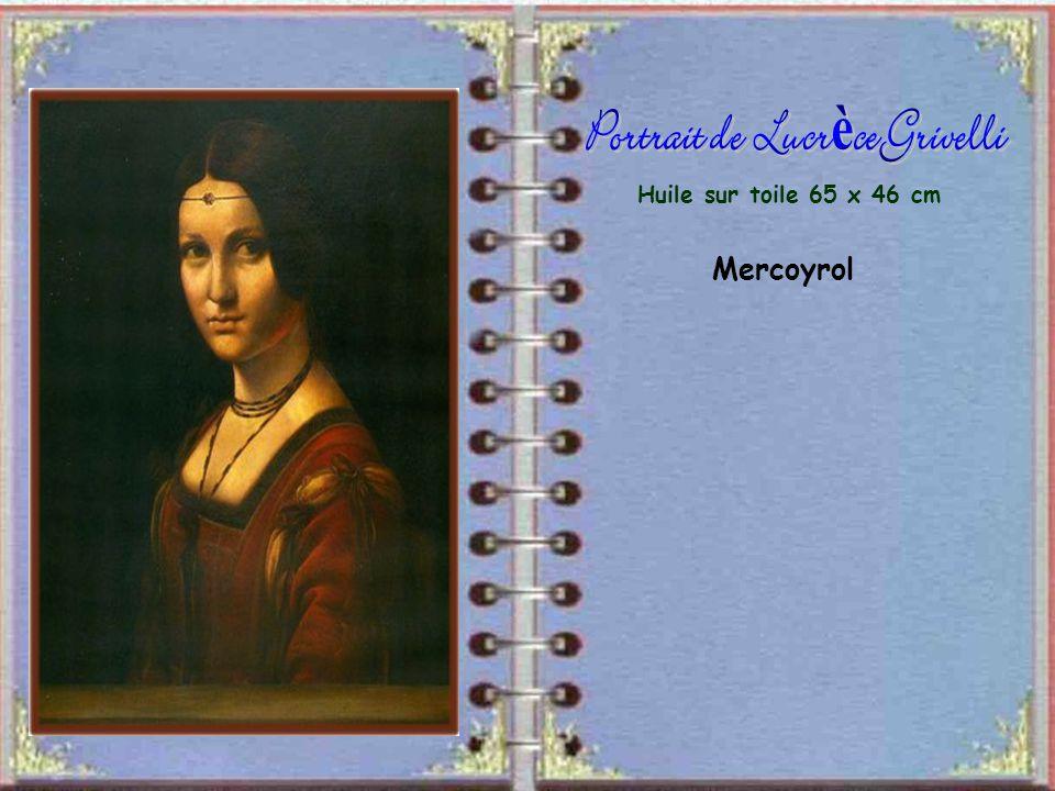 Portrait de Lucrèce Grivelli