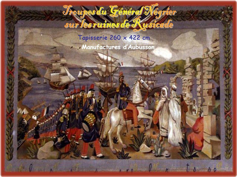 Troupes du Général Négrier sur les ruines de Rusicade