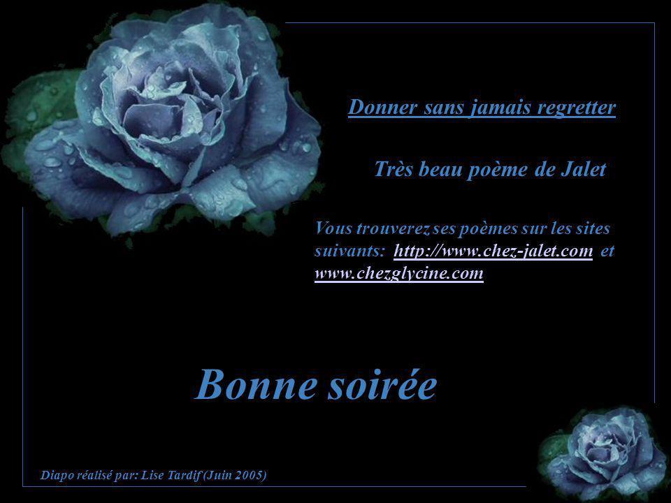 Très beau poème de Jalet