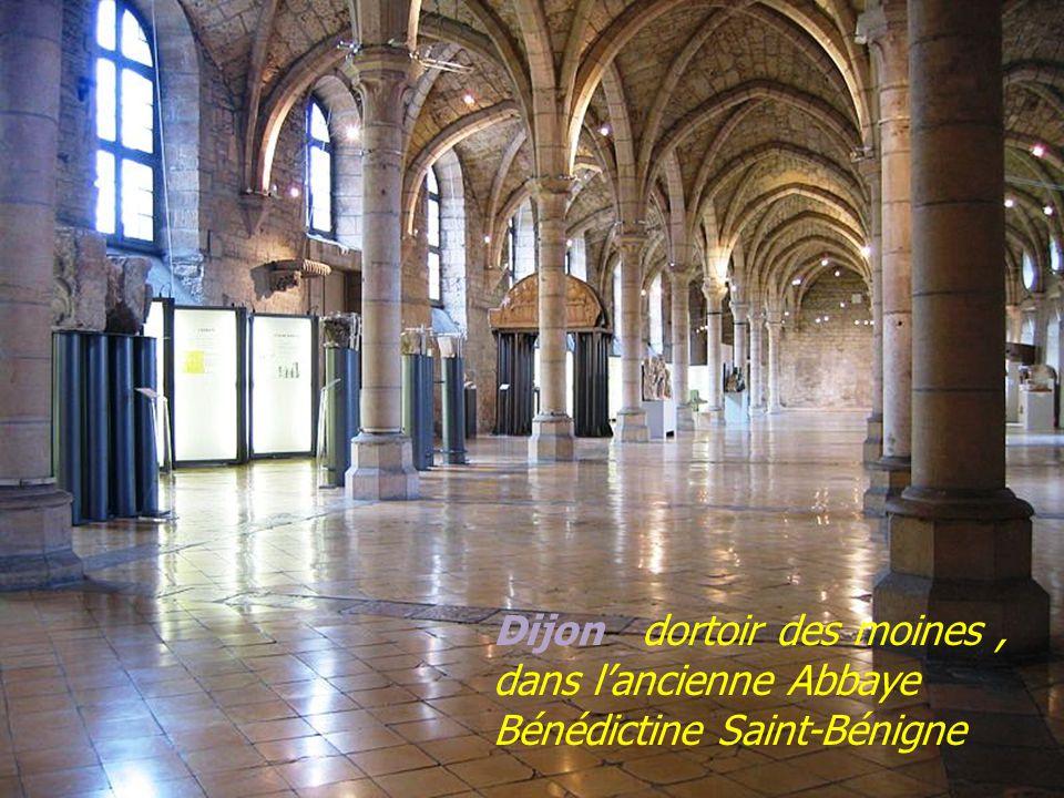 Dijon dortoir des moines , dans l'ancienne Abbaye Bénédictine Saint-Bénigne