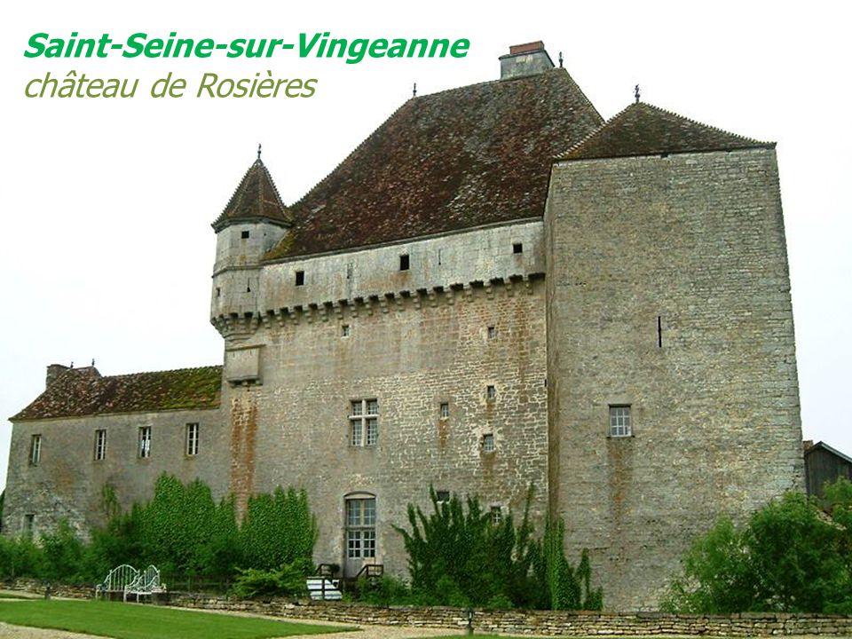 Saint-Seine-sur-Vingeanne château de Rosières