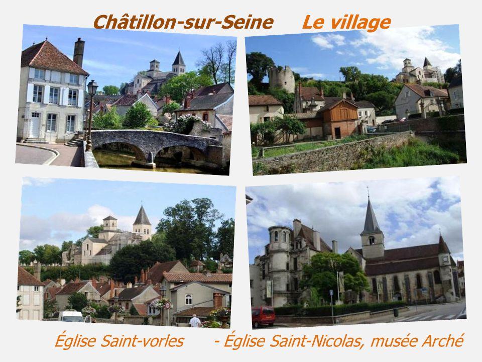 Châtillon-sur-Seine Le village