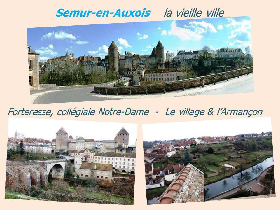 Semur-en-Auxois la vieille ville