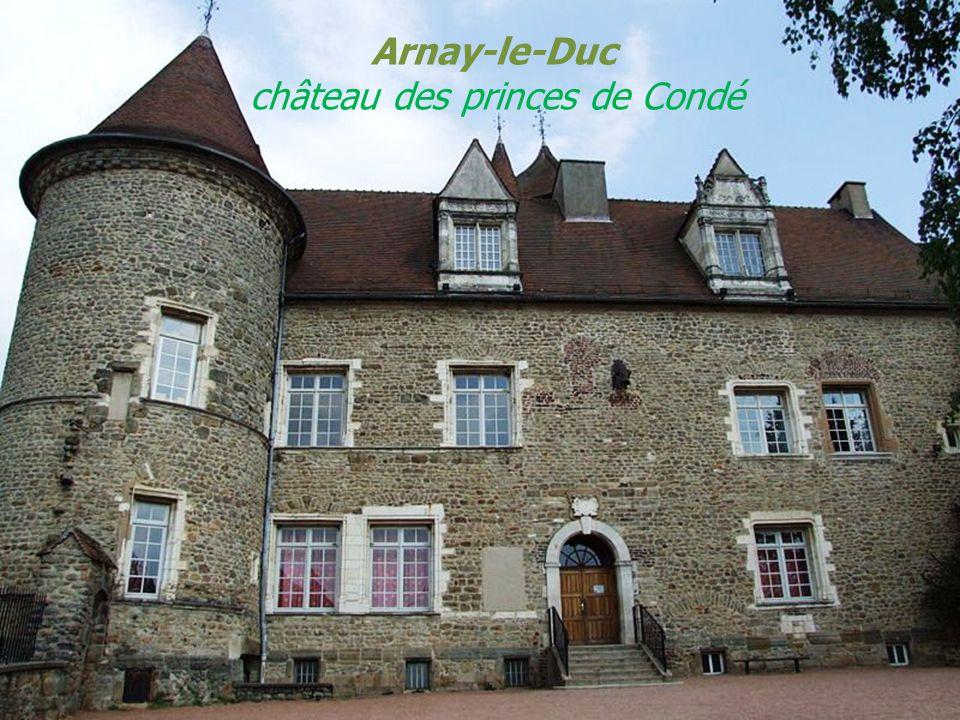 Arnay-le-Duc château des princes de Condé