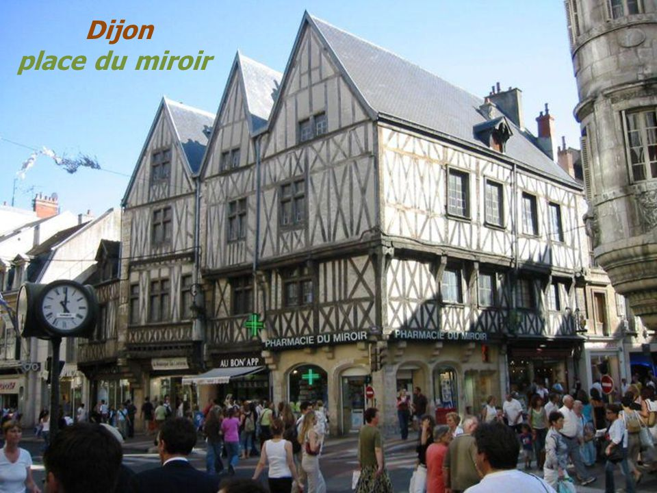 L a c t e d o r r gion bourgogne france ppt video for Le miroir dijon