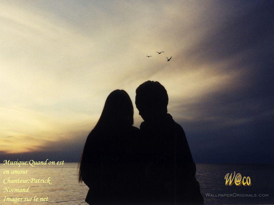 W@co Musique:Quand on est en amour Chanteur:Patrick Normand