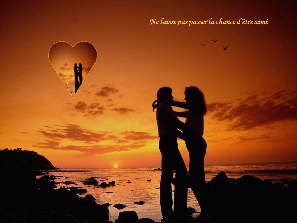 Ne laisse pas passer la chance d être aimé