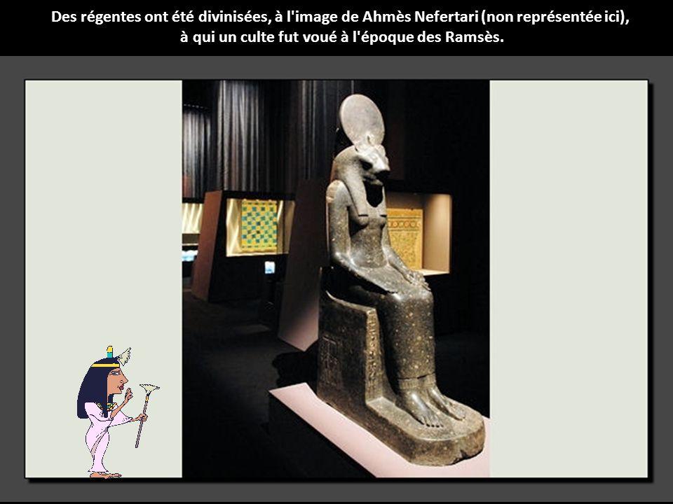 à qui un culte fut voué à l époque des Ramsès.