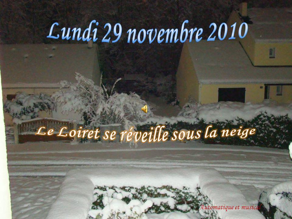 Le Loiret se réveille sous la neige