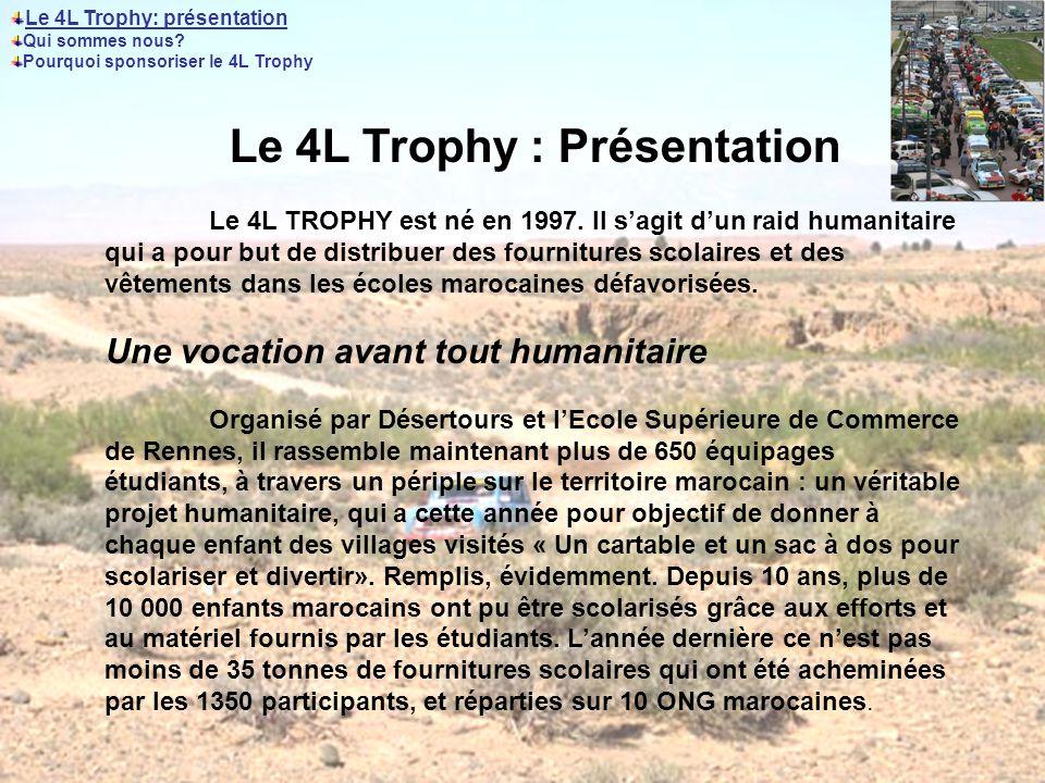 Le 4L Trophy : Présentation