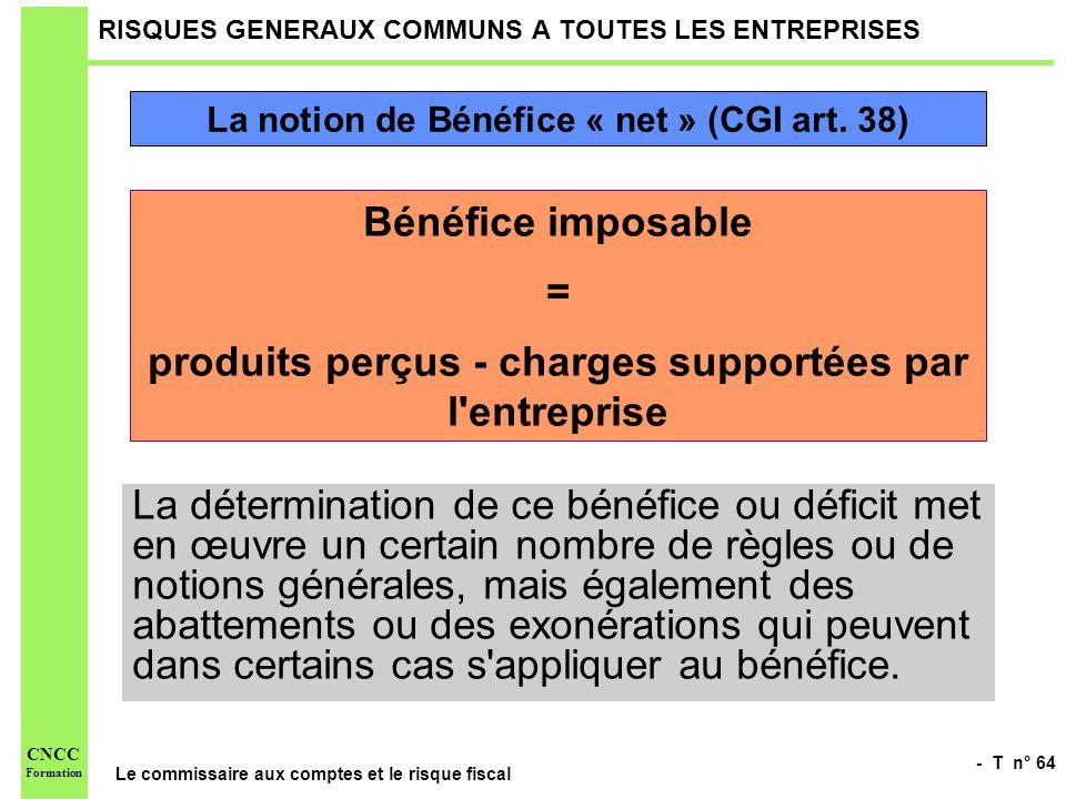 RISQUES GENERAUX COMMUNS A TOUTES LES ENTREPRISES