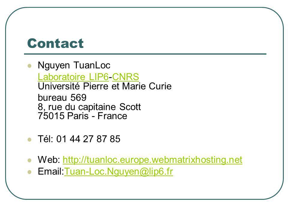 Contact Nguyen TuanLoc