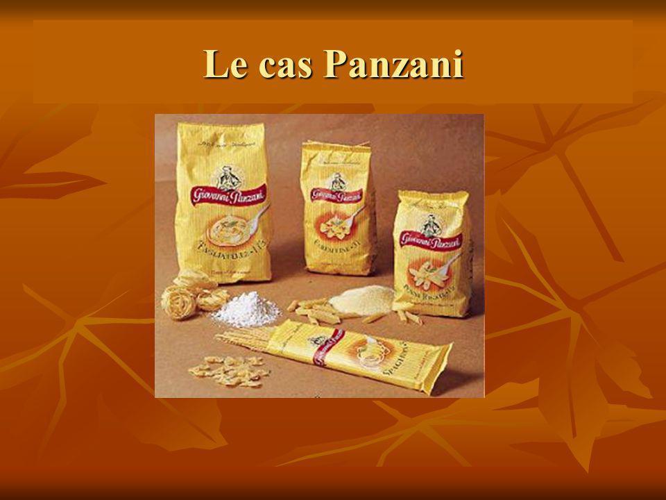 Le cas Panzani