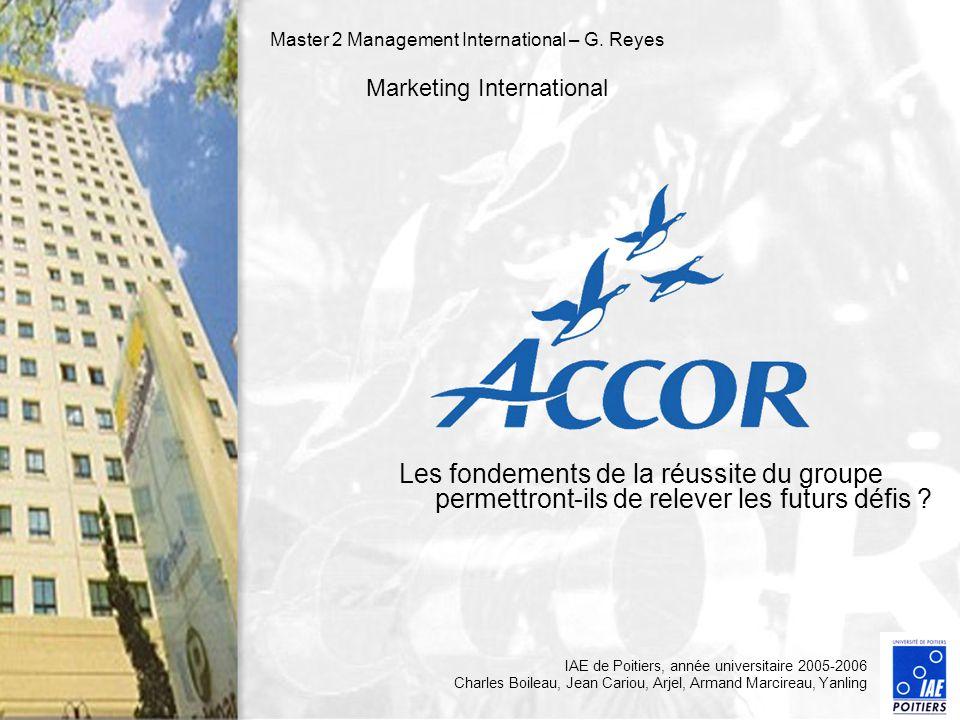 Master 2 Management International – G. Reyes Marketing International