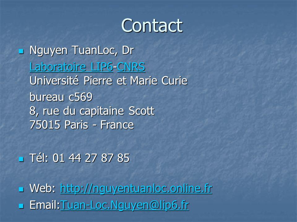 Contact Nguyen TuanLoc, Dr