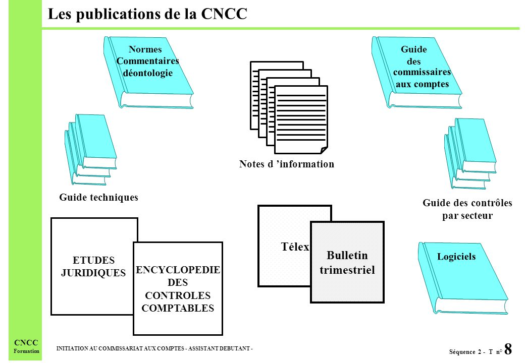 Les publications de la CNCC