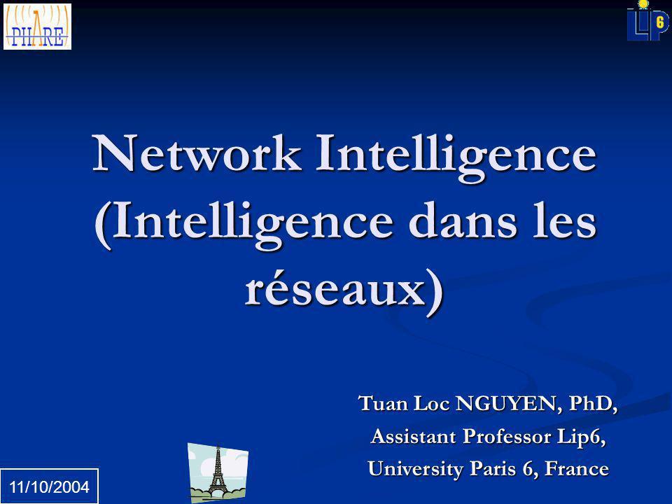 Network Intelligence (Intelligence dans les réseaux)