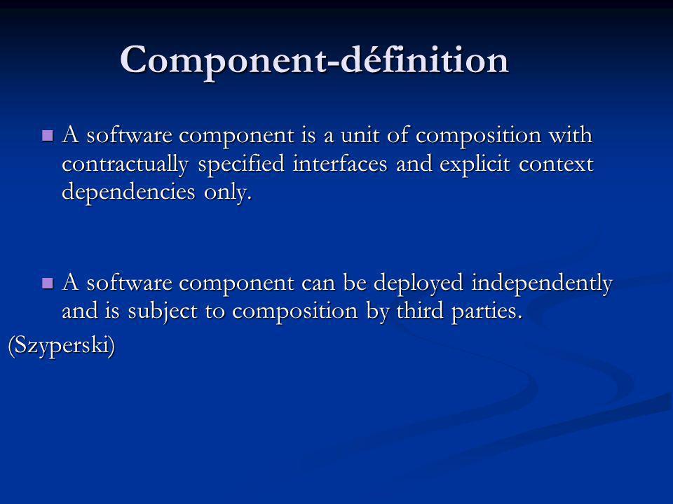 Component-définition