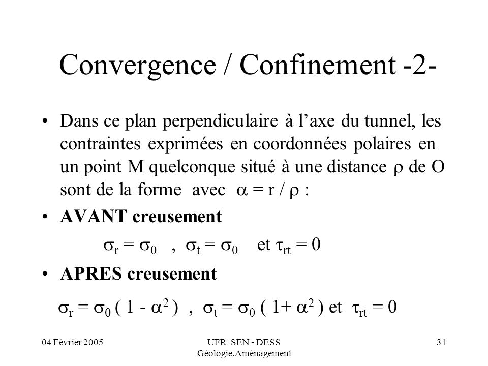 Convergence / Confinement -2-