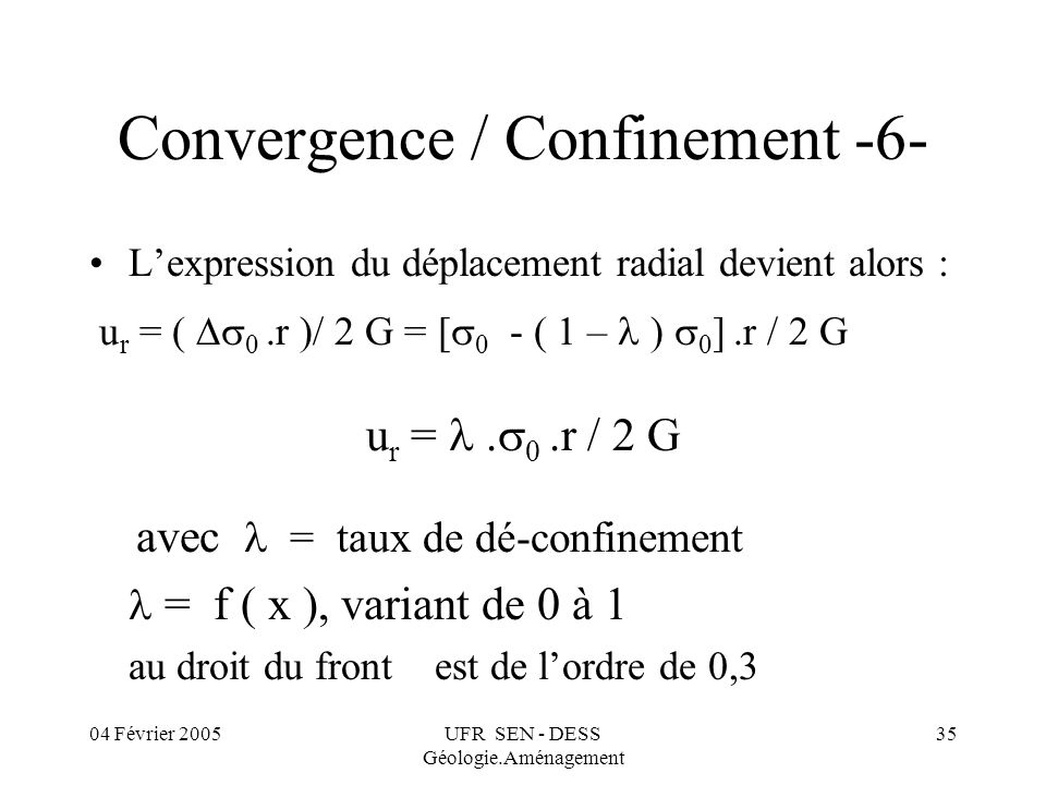 Convergence / Confinement -6-