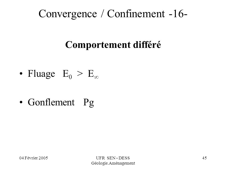 Convergence / Confinement -16-