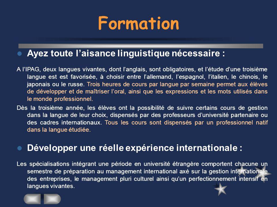 Formation Ayez toute l'aisance linguistique nécessaire :