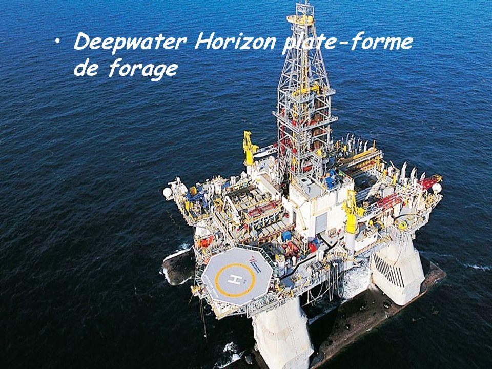 Deepwater Horizon plate-forme de forage