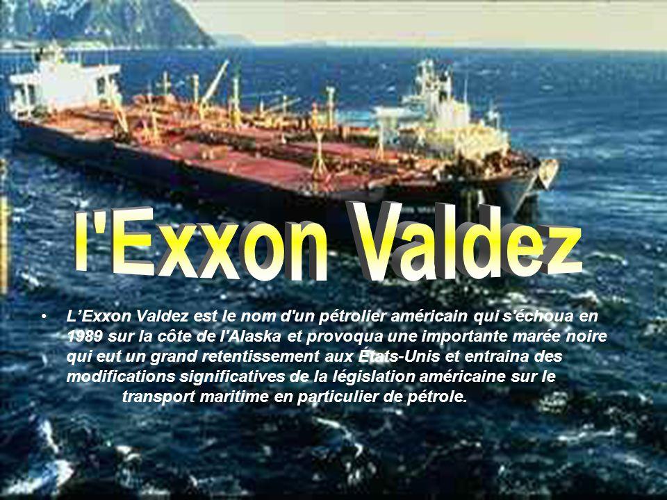 l Exxon Valdez