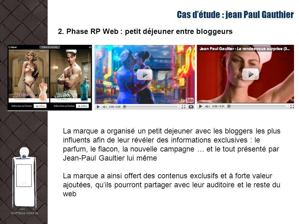 Cas d'étude : jean Paul Gauthier