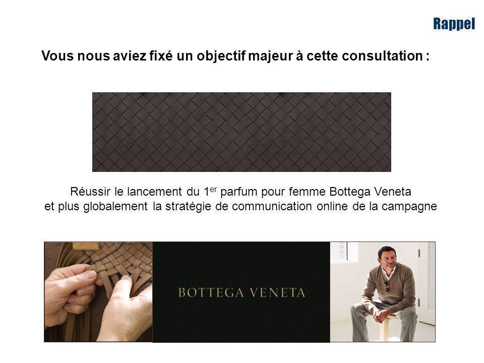 Réussir le lancement du 1er parfum pour femme Bottega Veneta