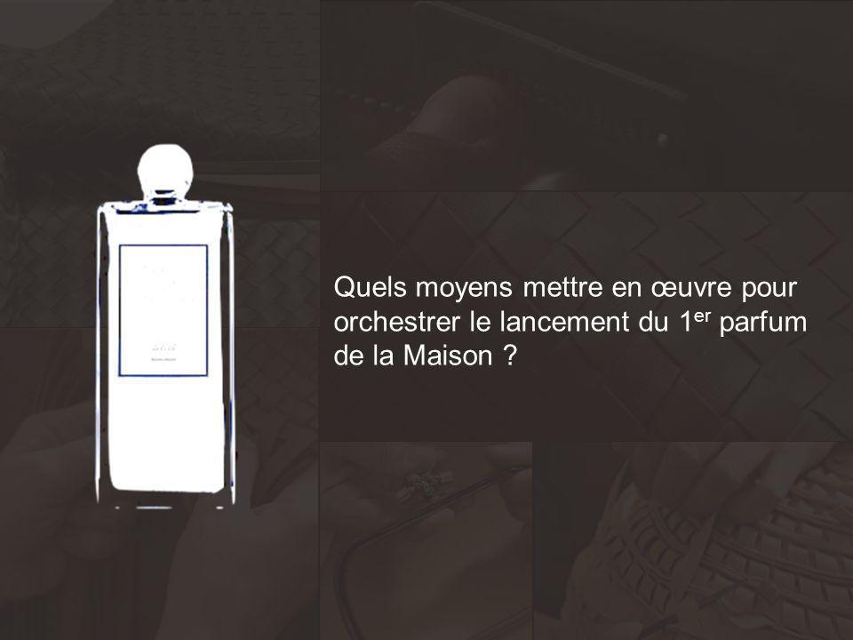 Quels moyens mettre en œuvre pour orchestrer le lancement du 1er parfum de la Maison