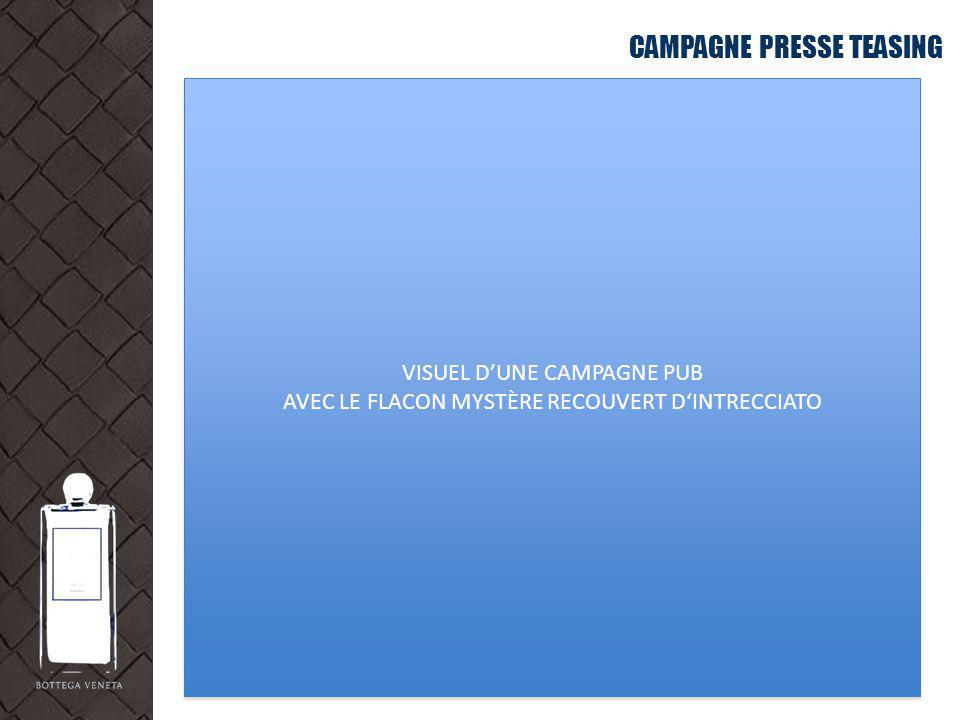CAMPAGNE PRESSE TEASING