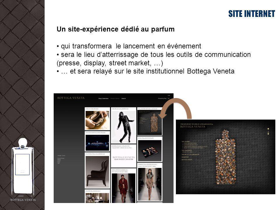 SITE INTERNET Un site-expérience dédié au parfum