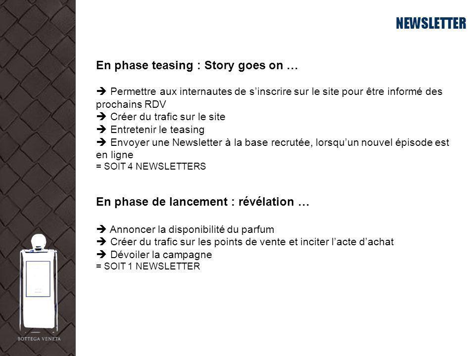 NEWSLETTER En phase teasing : Story goes on …